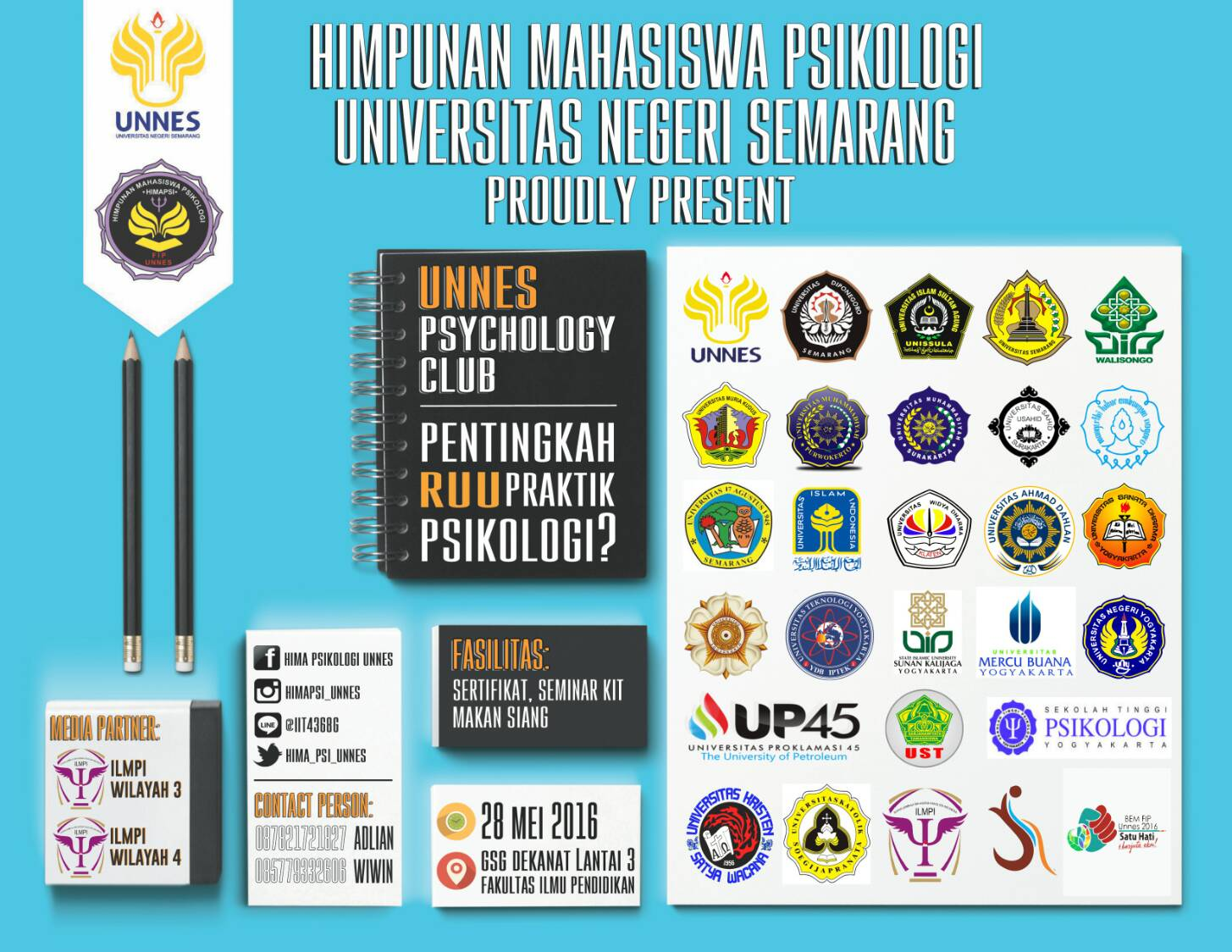 #ILMPIEVENT Unnes Psychology Club 2016