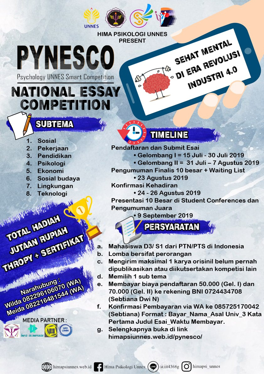 PYNESCO (PSYCOLOGY UNNES SMART COMPETITION)